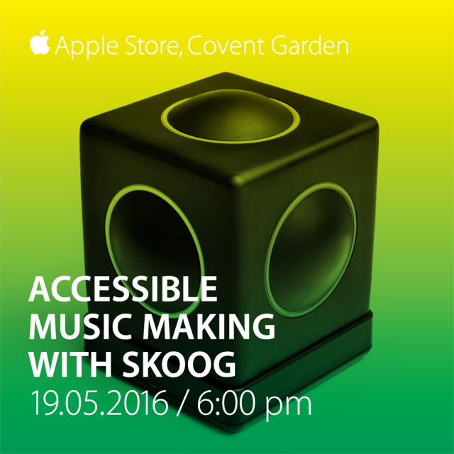 Skoogmusic Apple Store Event - Covent Garden London 19th May 6pm