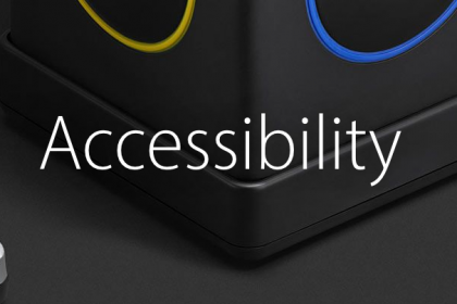Apple's New Accessibility Accessories Section